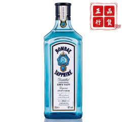 40°英国(Bombay Sapphire)孟买蓝宝石金酒进口洋酒 琴酒杜松子酒750ml