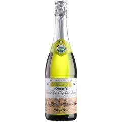 沃迪安无醇无酒精起泡酒法国原瓶进口苹果汁甜型含气果酒750ml单支装 香梨味