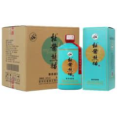 【杜酱官方】53°茅台镇杜酱熊猫酒500ml(6瓶装) 香柔酱香型白酒 粮食酒