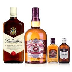 1L威士忌(芝华士+百龄坛)+200ml威士忌((芝华士+百龄坛)
