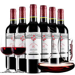 拉菲(LAFITE)法国原瓶进口 传奇拉菲罗斯柴尔德经典玫瑰干红葡萄酒750ml*6