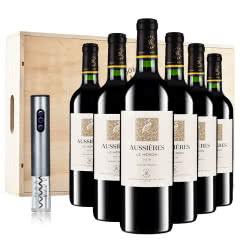 拉菲 法国原瓶进口红酒 罗斯柴尔德 奥西耶白鹭干红葡萄酒 整箱木箱装750ml*6