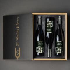 意大利原瓶进口红酒礼盒 康特卡萨诺黑皮诺干红葡萄酒礼酒750ml(3支礼盒装)