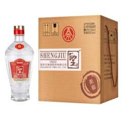 【2017年老酒】52° 五粮液股份出品 圣酒柔和 浓香型白酒 500ml*4瓶礼盒装