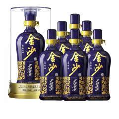 53°贵州金沙回沙蓝钻1988酱香型500ml(6瓶装)