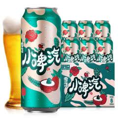 雪花小啤汽500ml*6听整箱玫瑰荔枝味啤酒饮料(0酒精0脂肪0压力)
