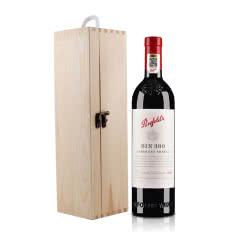 澳大利亚奔富Bin389赤霞珠西拉红葡萄酒750ml+木礼盒