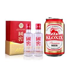 【小程序专享】52°国窖1573 50ml*2+科罗斯德式经典拉格啤酒330ml(金罐)