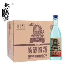 【酒厂直营】黄鹤楼汉清酒52°500ml(6瓶整箱装)清香型 口粮白酒  合肥仓发货